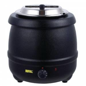 Distributeur double avec pompe et bec chauffant 2 x 0,9 L