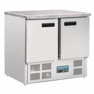 Table réfrigérée compacte 1 porte 2 tiroirs  240L Polar