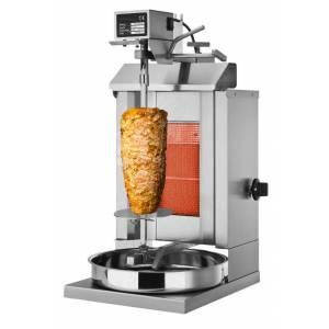 machine à kébab 1 brûleur / 5 kg maximum