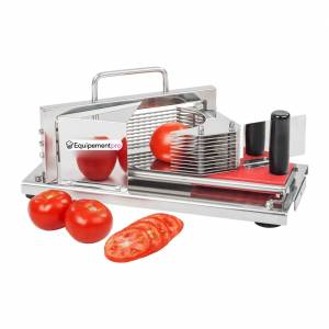 Coupe-tomate professionnel en inox -  4 mm
