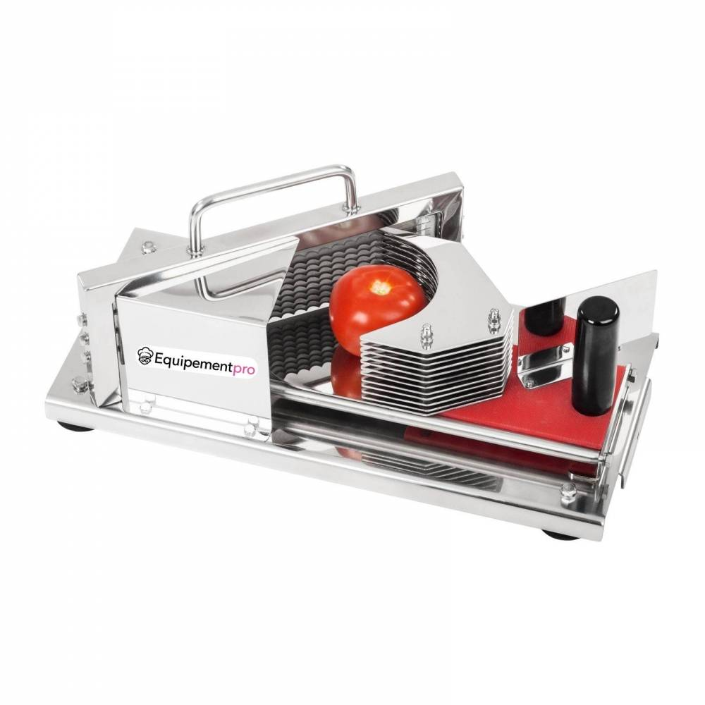 Coupe tomate professionnel en inox 4 mm equipementpro - Coupe tomate professionnel ...