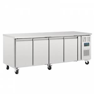 Table réfrigérée positive 4 portes Polar 553L