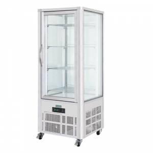 Vitrine réfrigérée porte incurvée Polar 235L