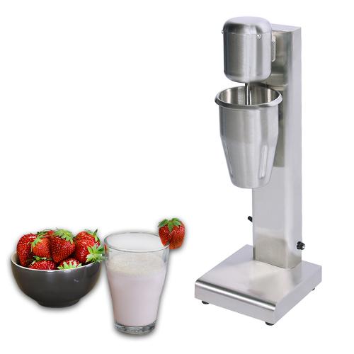 Milk-shake en acier inoxydable