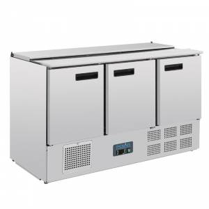 Comptoir à salade réfrigéré 368L Polar