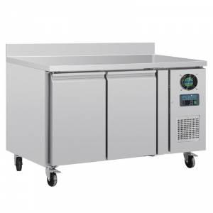 Table réfrigérée négative 2 portes avec dosseret 282L Polar