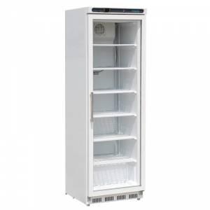 Vitrine réfrigérée négative une porte avec bandeau lumineux Polar 412L