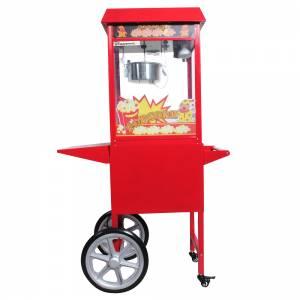 Machine à pop corn professionnelle sur chariot