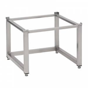 Support lave-vaisselle inox sans tablette inférieure Gastro M 600 x 600 x 400mm