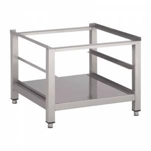 Support lave-vaisselle inox avec tablette inférieure Gastro M 600 x 600 x 400mm