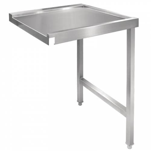 Table de sortie droite pour lave-vaisselle à capot Vogue 1100mm