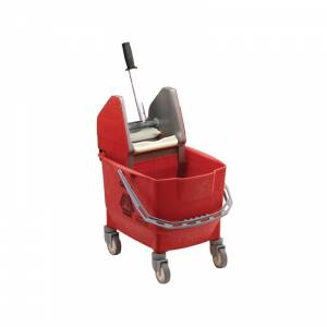 Seau essoreur Kentucky Rubbermaid rouge