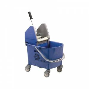 Seau essoreur Kentucky Rubbermaid bleu