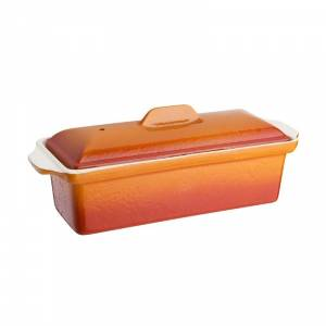 Terrine en fonte Vogue orange 1,3L