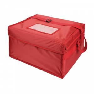 Grand sac de livraison pizza isotherme en nylon Vogue