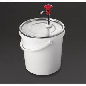 Distributeur de sauce à pompe Schneider 10L