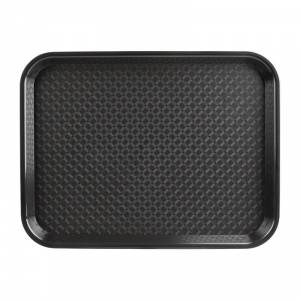 Plateau self-service Kristallon noir 450 x 350mm