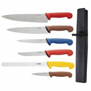 Ensemble de couteaux code couleur Hygiplas