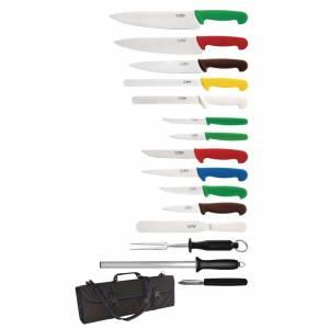 Ensemble de couteaux 15 pièces Hygiplas