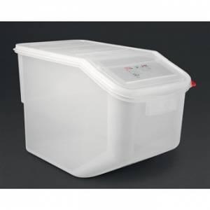 Boîte à ingrédients transparente Araven 50L