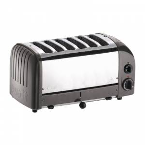 Grille-pain 6 tranches anthracite Vario Dualit 60156