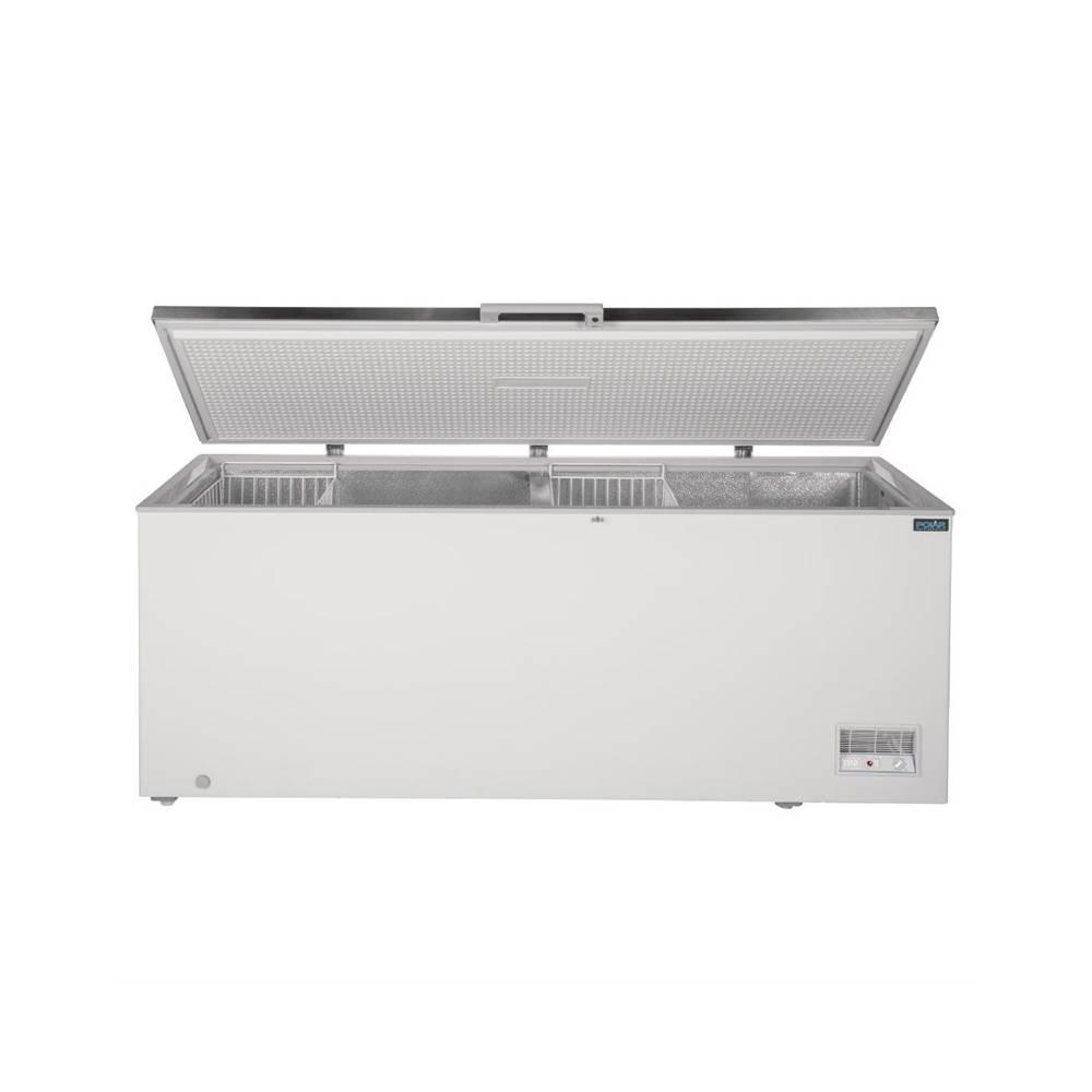 Congélateur coffre inox Polar 516L POLAR