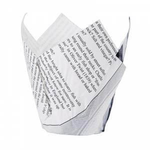 Cornets à frites motif papier journal (lot de 1100)