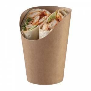 Etuis à tortilla kraft recyclables Colpac (lot de 1000)