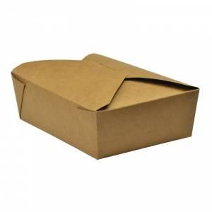 Boîtes à repas en carton compostable Vegware 130 cl (x300)