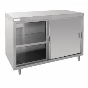 Meuble 4 tiroirs inox Vogue