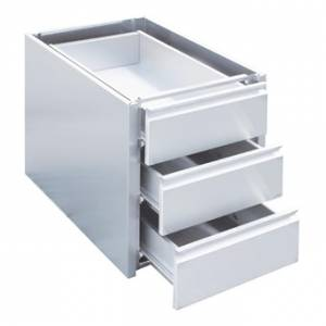 Tiroir inox à monter sur table Gastro M 450 x 580 x 180mm