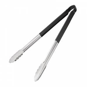 Couteau spatule à lame droite Hygiplas noir 255mm