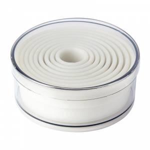 Cercle à tarte carré inox De Buyer 200 x 20mm