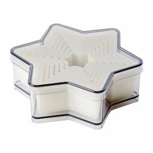 Boîte de 9 découpoirs carrés cannelés Schneider