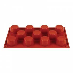 Plaque 15 pyramides en silicone Pavoni Formaflex