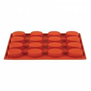 Plaque 20 mini-madeleines en silicone Pavoni Formaflex