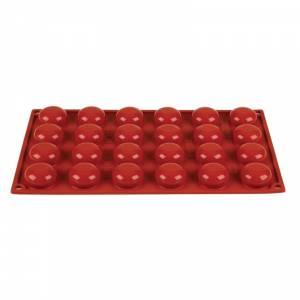 Plaque 16 ovales en silicone Pavoni Formaflex