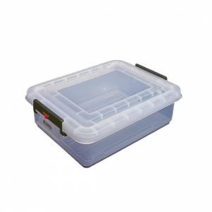 Boîte hermétique bleue en ABS sans BPA Araven GN1/2 150mm