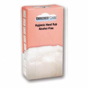Savon mousse antibactérien pour les mains Rubbermaid Flex EnrichedFoam 500ml (lot de 5)