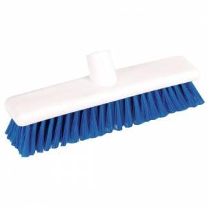 Tête de balai hygiénique à poils souples SYR bleue
