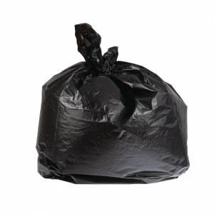 Grands sacs poubelle noirs utilisation courante Jantex 90L (lot de 10)