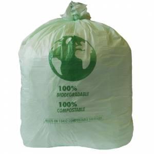 Sacs poubelle compostables Vegware Biobag 80L (lot de 240)