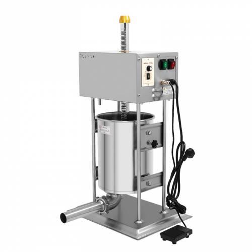 Poussoir à viande15 Litres / machine à saucisses - en inox - 10 litres