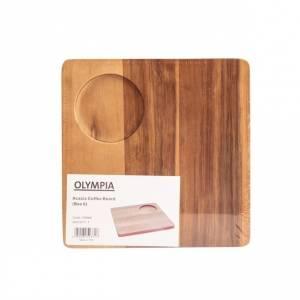 Planche en acacia ronde Olympia 330mm