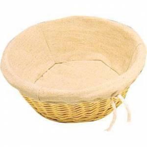 Corbeille à pain en osier Olympia ronde