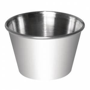 Pots à sauce en acier inoxydable Olympia 45ml