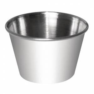 Pots à sauce en acier inoxydable Olympia 70ml