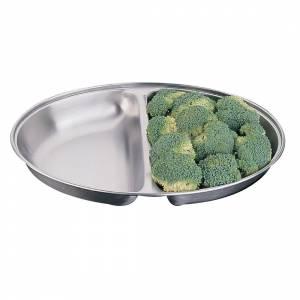 Plat à légumes ovale Olympia 143x200mm